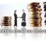 Piattaforma certificazione crediti ai Creditori della P.A.